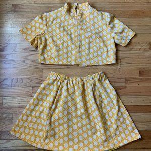 Vintage 70s dress turned co-ore